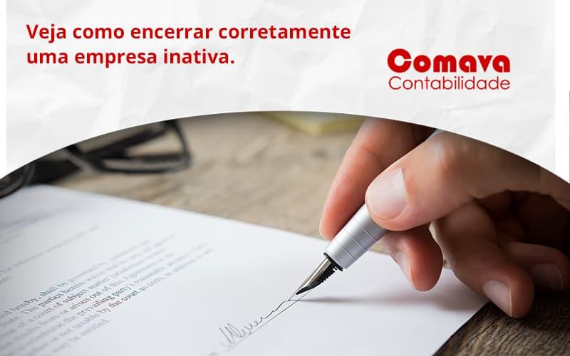 Encerrar Empresa Comava - Escritório de Contabilidade em São Paulo - SP   Comava Contabilidade